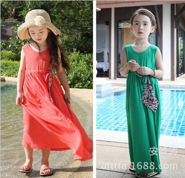 New 2014 Summer Fashion Bohemian Style Cotton Girl...