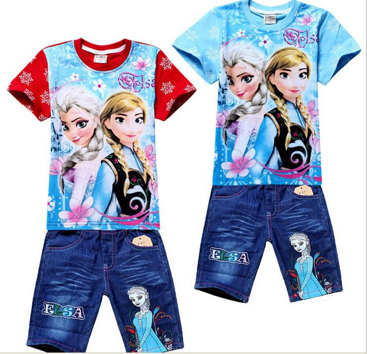 2014 New Arrival Summer Fashion Cartoon Print Froz...